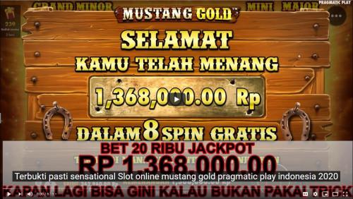 Terbukti Pasti Sensational Slot Online Mustang Gold Pragmatic Play Indonesia 2020 Trakteer Id